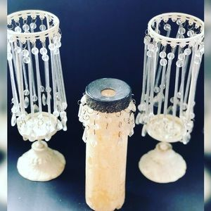 Other - Vintage Chandelier Candle Holders